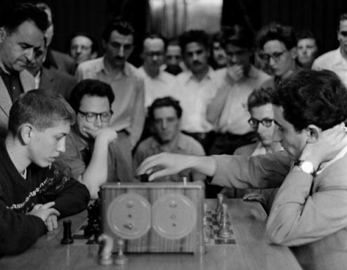 Fischer Petrosian 1958